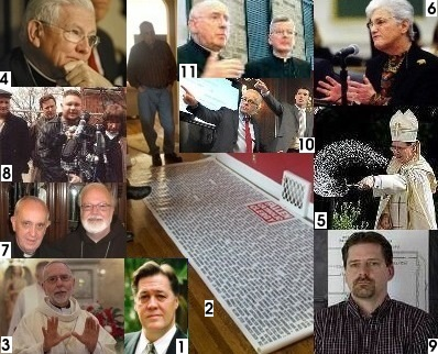 Lists of Accused Priests Released by Dioceses and Religious
