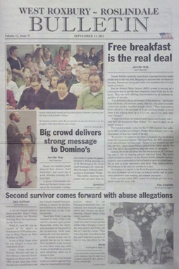 The Bulletin, September 13, 2012