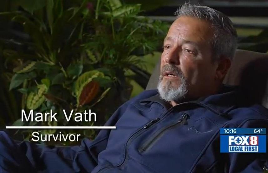 Survivor Mark Vath.