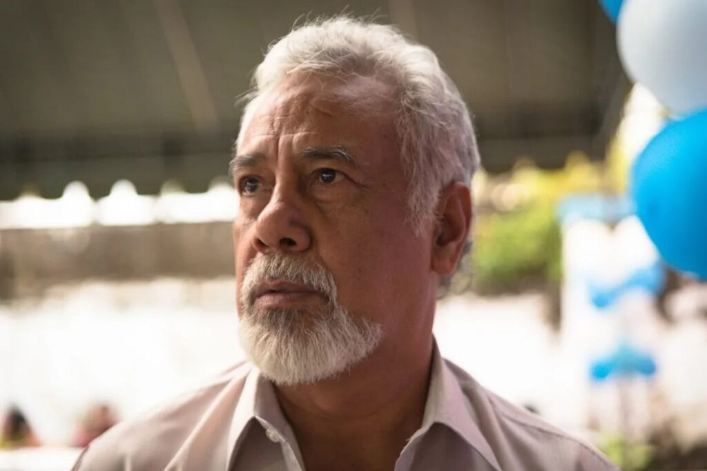 Xanana Gusmao has come under fire for visiting self-confessed paedophile priest Richard Daschbach.