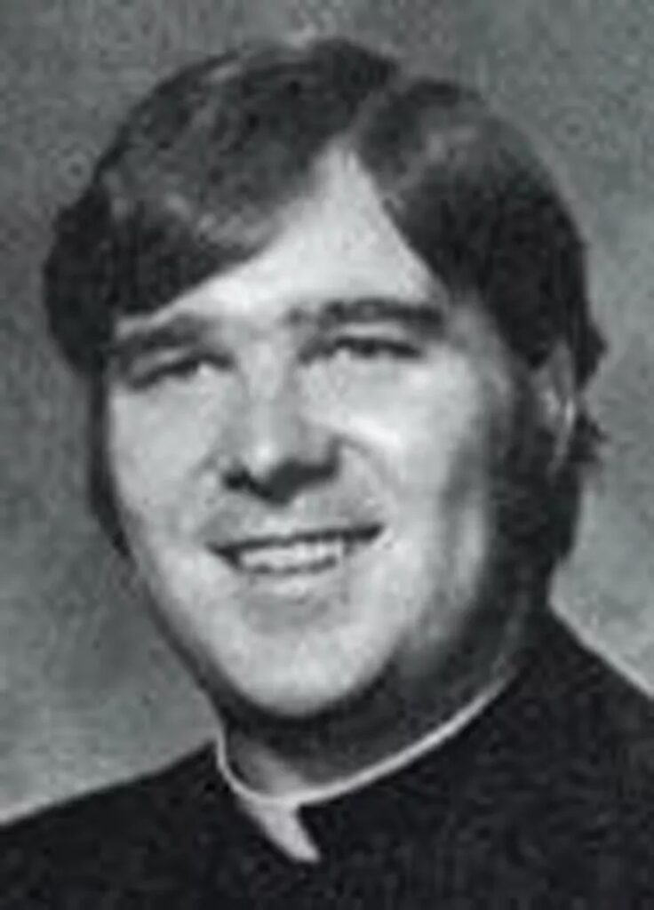 James Ray, shown in this undated photo when he was still a priest in the Chicago area. Provided