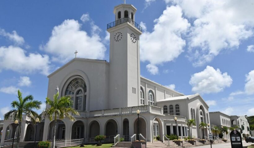 APPEAL: The Dulce Nombre De Maria Cathedral-Basilica as seen Thursday Feb. 25, 2021 in Hagåtña. The Archdiocese of Agana is appealing a court decision that upholds the Small Business Administration's denial of their application for the Paycheck Protection Program. David Castro/The Guam Daily Post