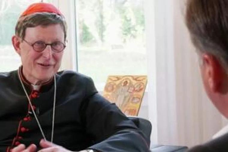 Archbishop of Cologne, Cardinal Rainer Woelki. (photo: Jochen Rolfes / EWTN)