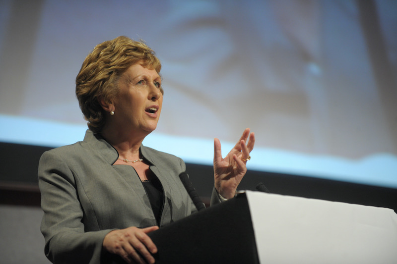 Mary Mcaleese was President of Ireland from 1997 to 2011. F2images/Alamy