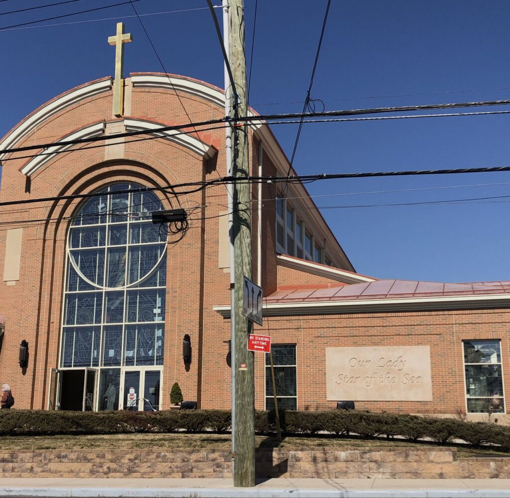 Our Lady Star of the Sea R.C. Church in Huguenot as photographed on March 22, 2021. (Staten Island Advance / Jan Somma-Hammel)