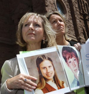 Ann Hagan Webb, left, has told her story to R.I. lawmakers more than once in graphic detail, and on Wednesday planned to do so again. Steve Szydlowski, The Providence Journal