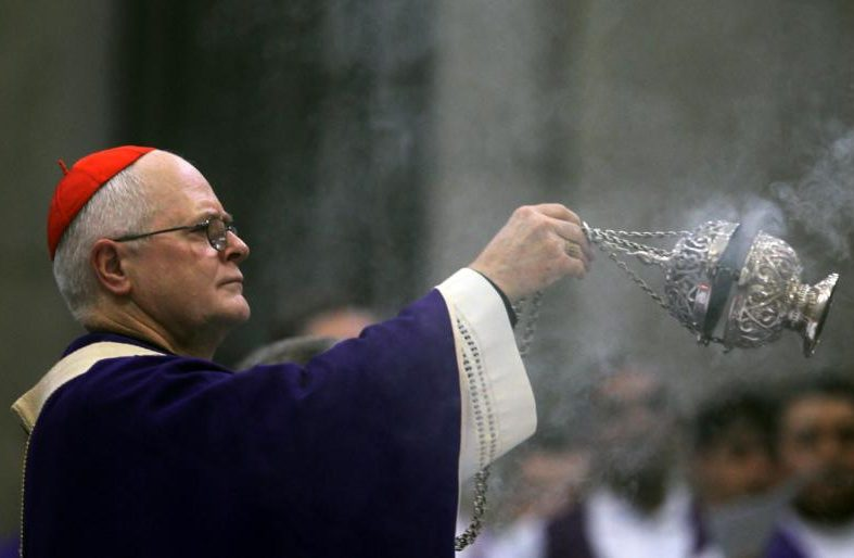 Brazilian Cardinal Odilo Pedro Scherer of São Paulo is pictured celebrating Mass at the São Paulo Cathedral in 2013. (Credit: Paulo Whitaker / Reuters via CNS.)