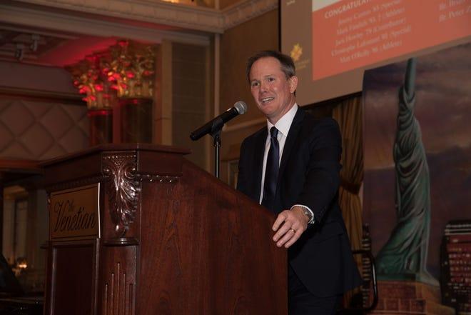 Dr. Brian Mahoney, President. Bergen Catholic High School celebrates their 2018 Crusader Gala at The Venetian in Garfield. 11/16/2018