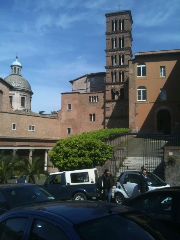 The monastery in Rome where the Rev. John Baptist Ormechea has been living ever since credible sex abuse allegations were made against him nearly 20 years ago dating from his time serving at Immaculate Conception parish on Chicago's Northwest Side. Joan Nockels Wilson