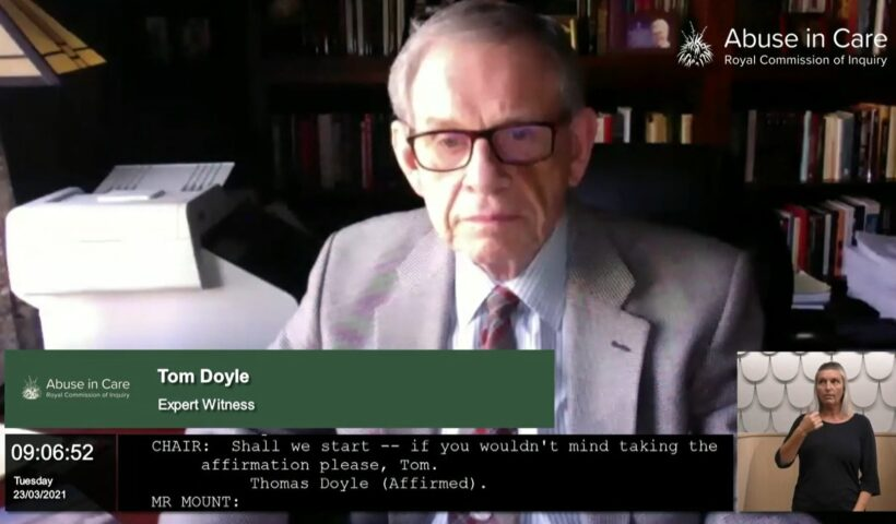 Reverend Dr. Thomas P. Doyle for faith-based redress hearing from Abuse in Care Inquiry on Vimeo.