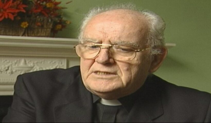A victim of Fr Joseph Marmion has claimed that Belvedere College was aware of the abuse by the late priest before 1977. Pic: Courtesy of RTÉ