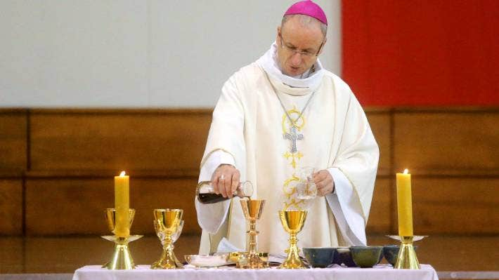 Charles Drennan resigned as bishop of Palmerston North in 2019. - Robert Charles, Stuff