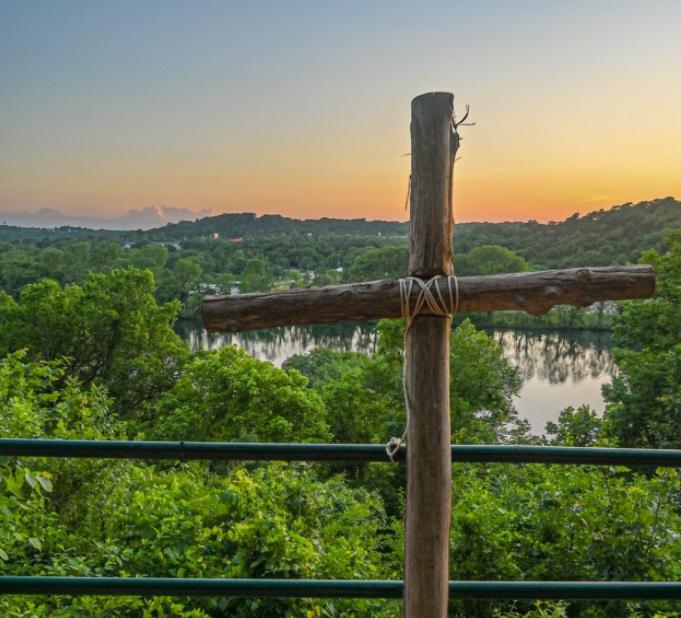 A cross at Kanakuk Kamp near Branson, Missouri. (Kanakuk Kamps/Facebook.)