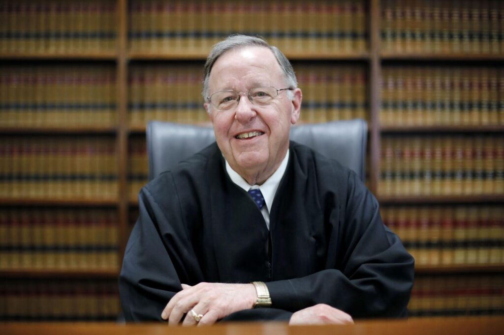 Daniel A. Ford, a retired Superior Court Judge, is a chair of the task force focused on abolishing sexual abuse within the Diocese of Springfield and improving victims assistance.  EAGLE FILE PHOTO