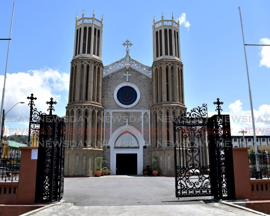 The Cathedral of the Immaculate Conception in Port of Spain . Photo by Vidya Thurab