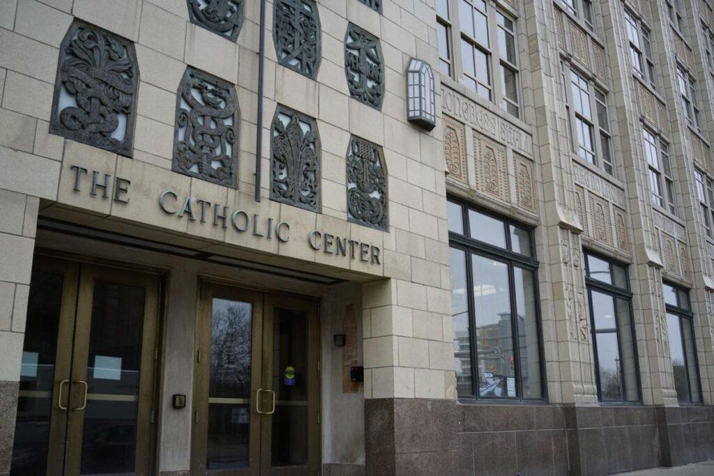 Buffalo Diocese headquarters in downtown Buffalo.  Derek Gee