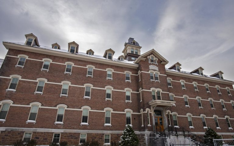 The former St. Joseph's Catholic Orphanage in Burlington where the Roman Catholic Diocese of Burlington used to be headquartered. Seen on Thursday, November 14, 2019. Photo by Glenn Russell/VTDigger