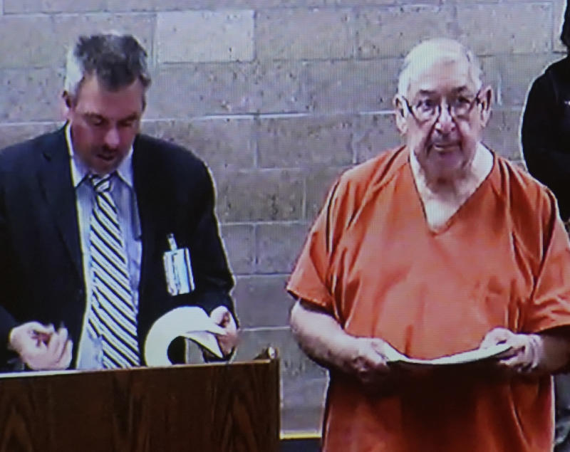 Former priest Sabine Griego has his first felony appearance in court after being charged in a rape case in March 2019. Photo Adolphe Pierre-Louis