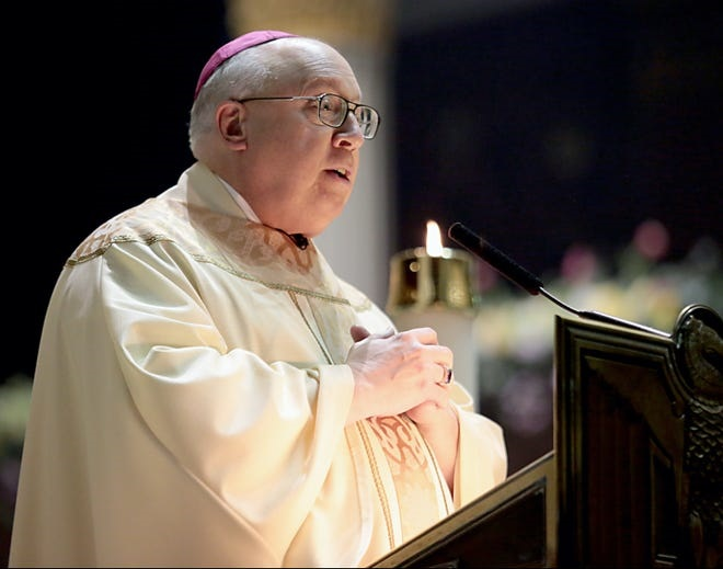 Rev. Joseph R. Binzer resigned in 2020 from his office of auxiliary bishop of the archdiocese of Cincinnati.