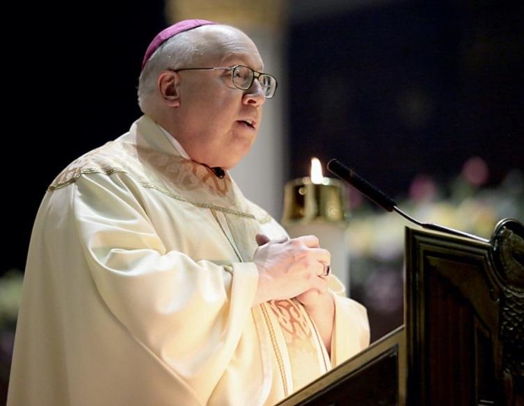 Bishop Joseph Binzer. Photo E.L. Hubbard