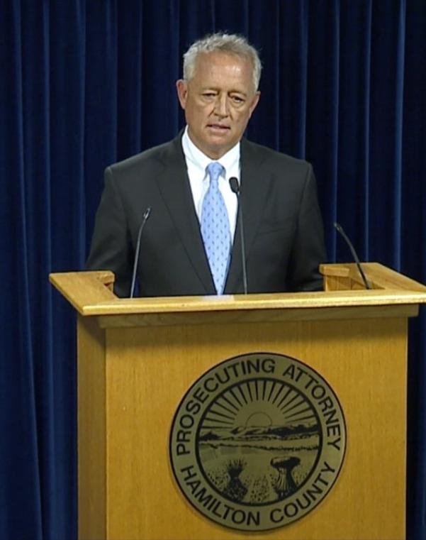 Hamilton County Prosecutor Joe Deters. Ramsay Fullbright