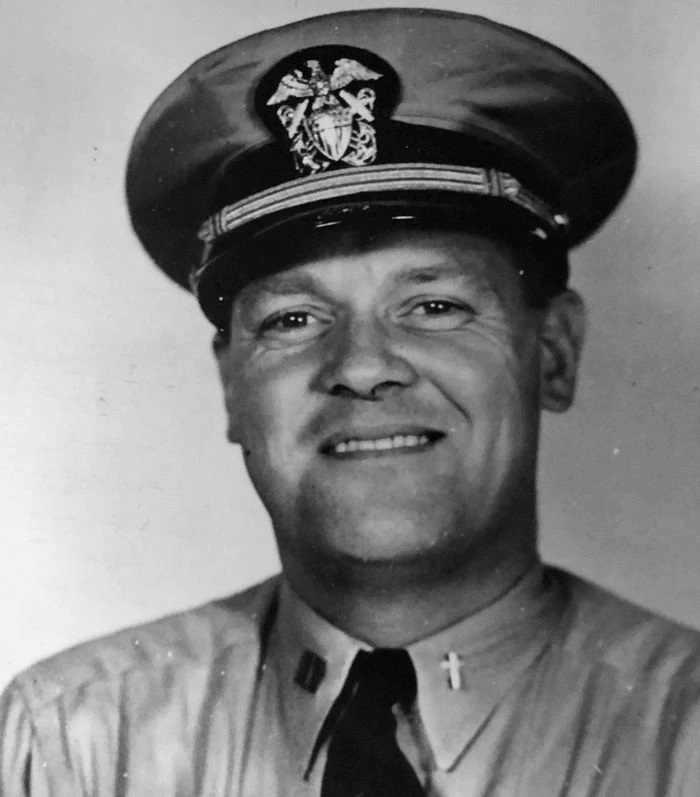 The Republican file photo (custom credit) The Most Rev. Christopher J. Weldon, bishop of the Roman Catholic Diocese of Springfield from 1950 until 1977. Seen here in his days as a U.S. Navy chaplain in an undated file photo.
