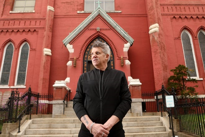 Keith Rennar Brennan, speaks about the abuse he endured at St. Paul The Apostle Roman Catholic Church, in Jersey City, and what he has done to try to help other survivors. Monday, April 19, 2021 Kevin R. WexlerKevin R. Wexler, NorthJersey.com