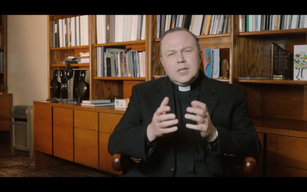 Father Remek Blaszkowski, speaking in a video shot by the Diocese of St. Augustine