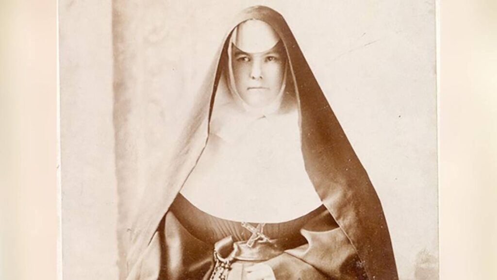Sister Mary Agnes Dunne, the first Sister of Mercy in Kansas City, who arrived here on Aug. 2, 1887, to open a home for working women. COURTESY OF THE SISTERS OF MERCY ARCHIVES