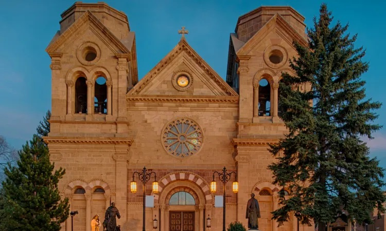 Cathedral Basilica of St. Francis of Assisi - Shutterstock