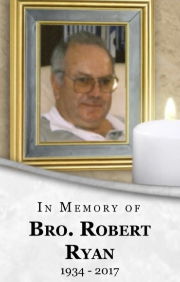 A Marist Brothers memorial for Brother Robert Ryan. Marist Brothers
