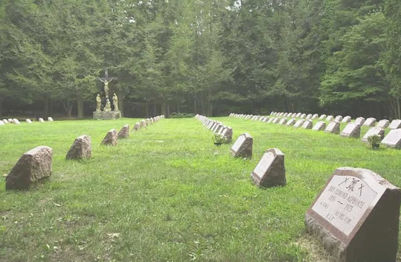 The Marist Brothers cemetery in New York where Brother Robert Ryan is buried. Marist Brothers