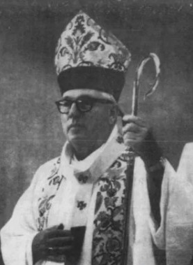 Newark Archbishop Peter Gerety in a 1986 photo. File / NorthJersey.com