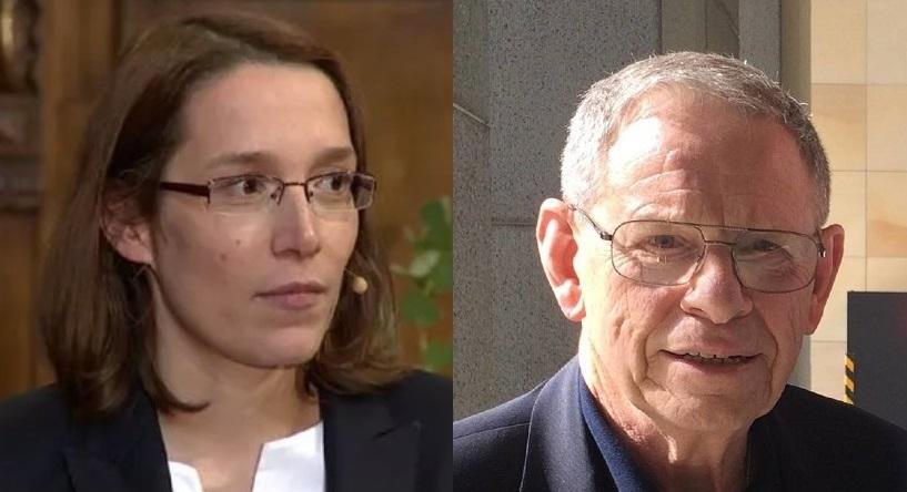 Doris Reisinger and Tom Doyle