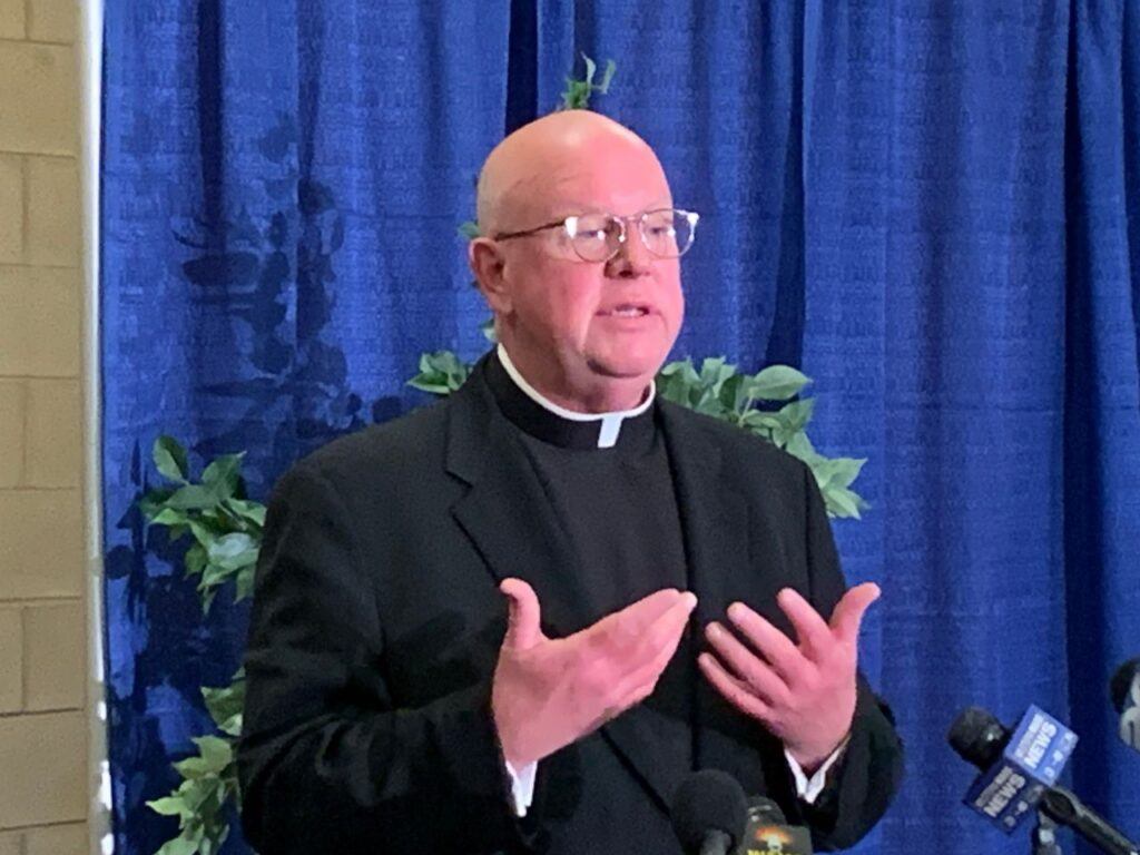 """Springfield Bishop William Byrne said in a May 24 letter to parishioners and diocesan institutions that an updated list of credibly accused sexual abusers that the diocese will post in early June """"will result in considerable addition to the list."""" (Don Treeeger   The Republican file photo)"""