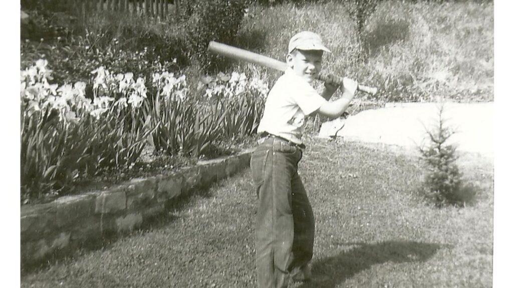 Courtesy Harriet Dudich Bobby Bizup loved baseball.