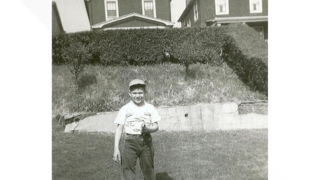 Courtesy Harriet Dudich Bobby Bizup visited Camp St. Malo three times in1957 and twice more in 1958.