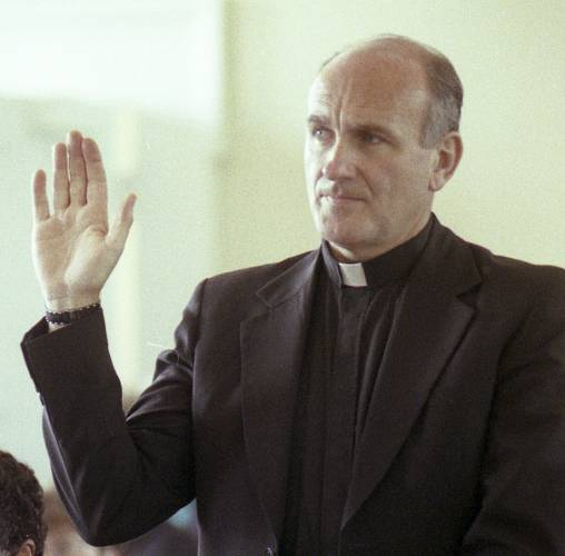 Rev. Richard R. Lavignet. Investigators were preparing to seek an arrest warrant for the defrocked Roman Catholic priest long considered a suspect in the 1972 killing of 13-year-old altar boy Danny Crouteau, shortly before his death last week, Hampden District Attorney Anthony Gullini said Monday. AP File Photo / Scott Maguire