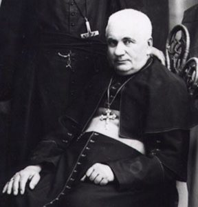 Bishop Vital-Justin Grandin, an early advocate of Residential Schools, circa 1900 (Photo: Creator unknown, Public Domain).