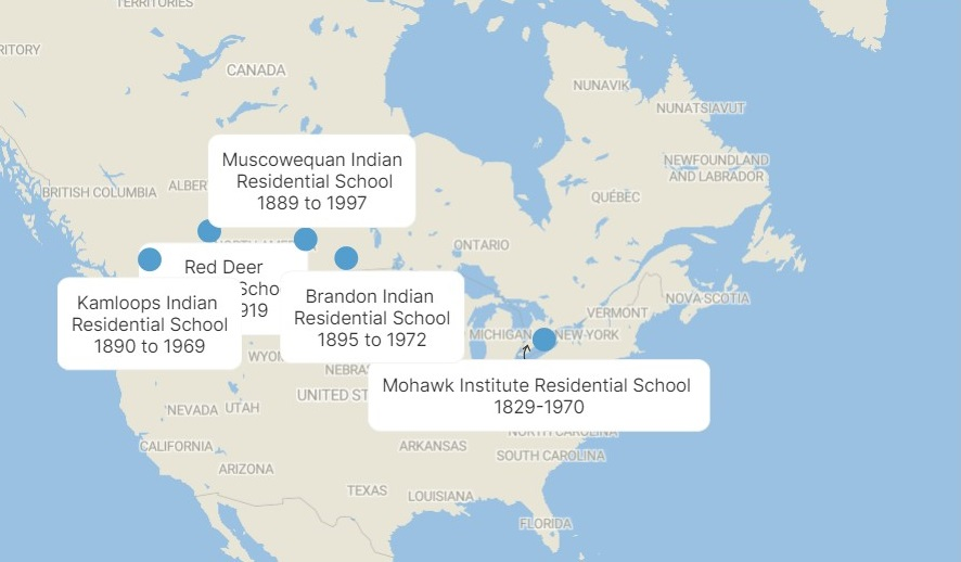 Searches for unmarked graves demanded across Canada: The remains of 215 children were found at Kamloops residential school. Other mass, unmarked graves exist, some of which remain to be found.