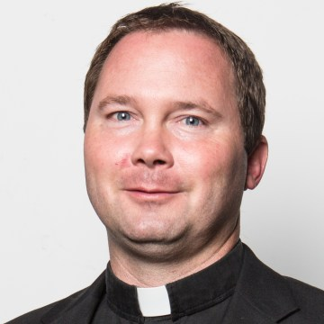 St. Mary's Pastor Brent Shelton. Diocese of Knoxville