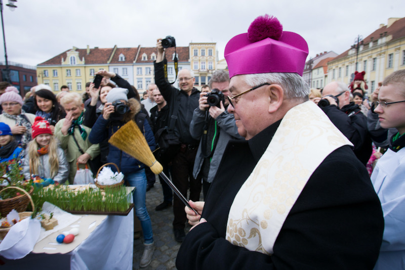 Pope Francis has already accepted the resignation of Bishop Jan Tyrawa of Bydgoszcz. Jaap Arriens/Pacific Press/Alamy