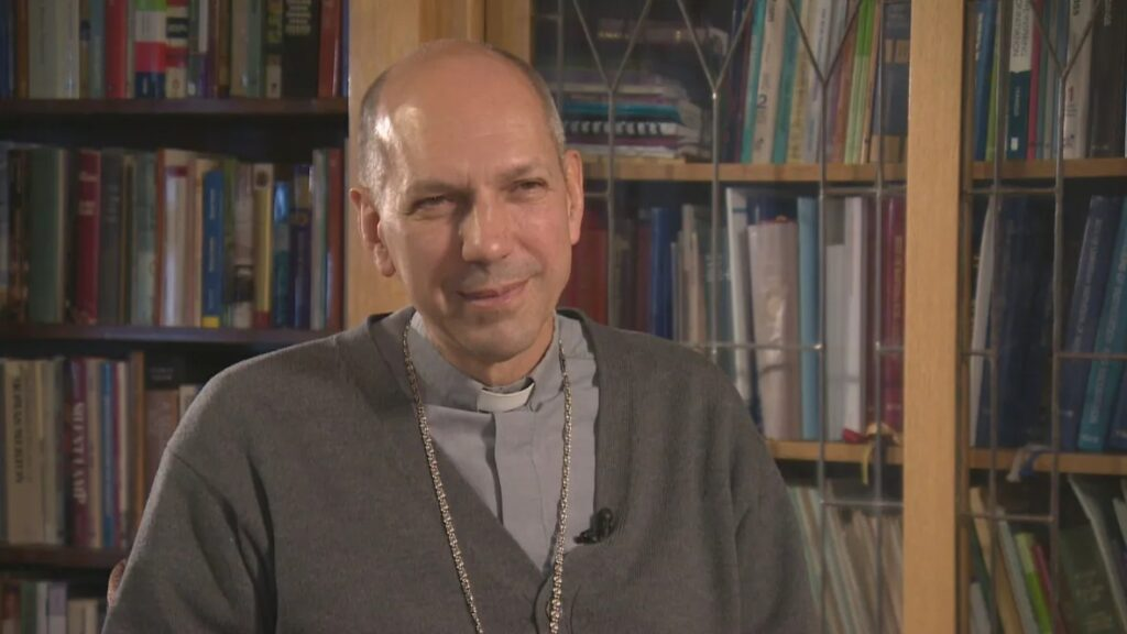 Regina Roman Catholic Archbishop Don Bolen says the names of abuser priests will not be made public at this time, but said 'there is a significant legacy of clergy sexual abuse in the archdiocese, and ... every deanery, every major parish, is a part of that legacy.' (Radio-Canada/CBC)