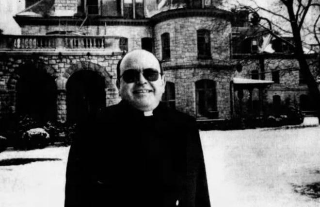 The Rev. Bruno Ugliano in 1990. File Photo.