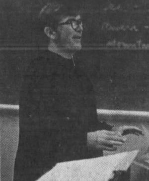 The Rev. Manus Duffy in 1975. File Photo.