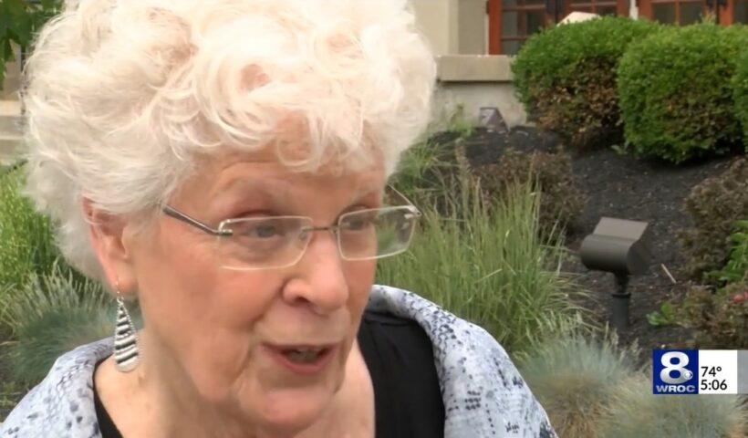 Carol DuPré. Still from WROC video report