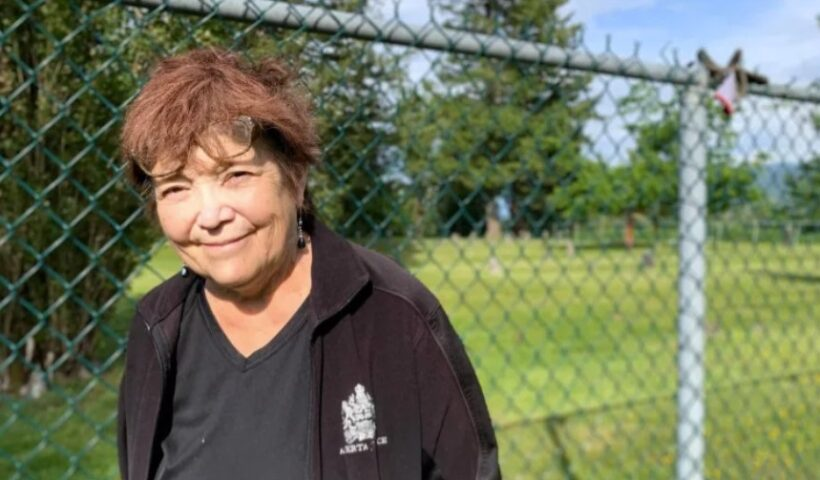 Seven of Bronwyn Shoush's aunts and uncles lie in residential school graves in Mission, B.C. For decades, she's been searching for answers about how exactly they died. (Submitted by Bronwyn Shoush)