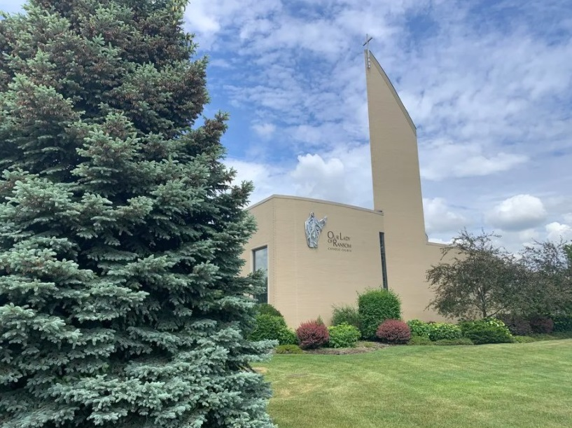 Our Lady of Ransom Church in Niles, where the Rev. Ronald Luka CMF, a Claretian priest deemed to have been credibly accused of sexual misconduct, once served. Robert Herguth / Sun-Times