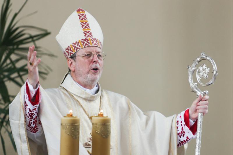 Archbishop Claudio Gugerotti has met survivors of clerical sex abuse. Mikhail Sokolov/TASS/Alamy