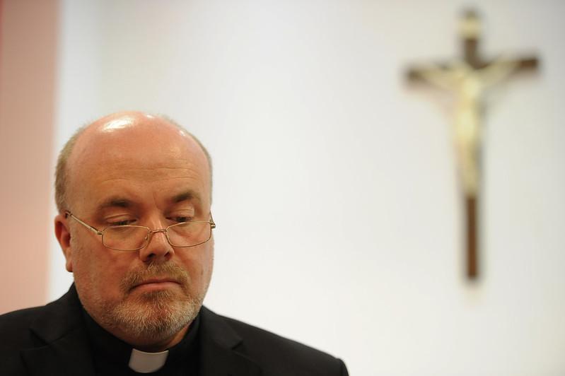 Bishop Marcus Stock has apologised to survivors. Mazur/catholicchurch.org.uk